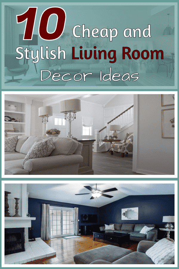 Living Room Decor Ideas on budget