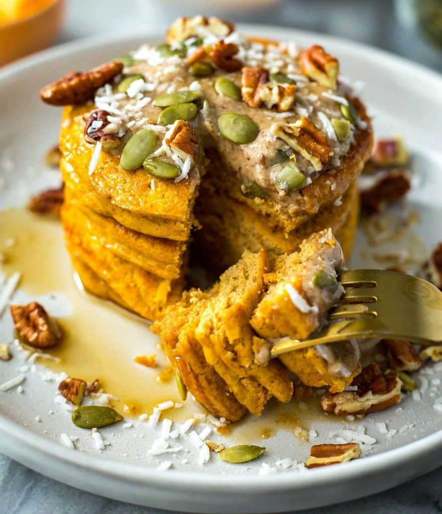 pumpkin pancakes Meal Prep Recipes and Grocery List