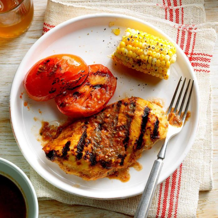 Grilled-Basil-Chicken-and-Tomatoes