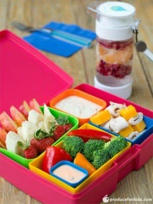 Bento box fondue kids lunch box ideas