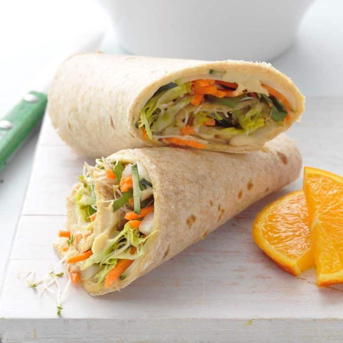 Veggie Warp kids lunch box ideas