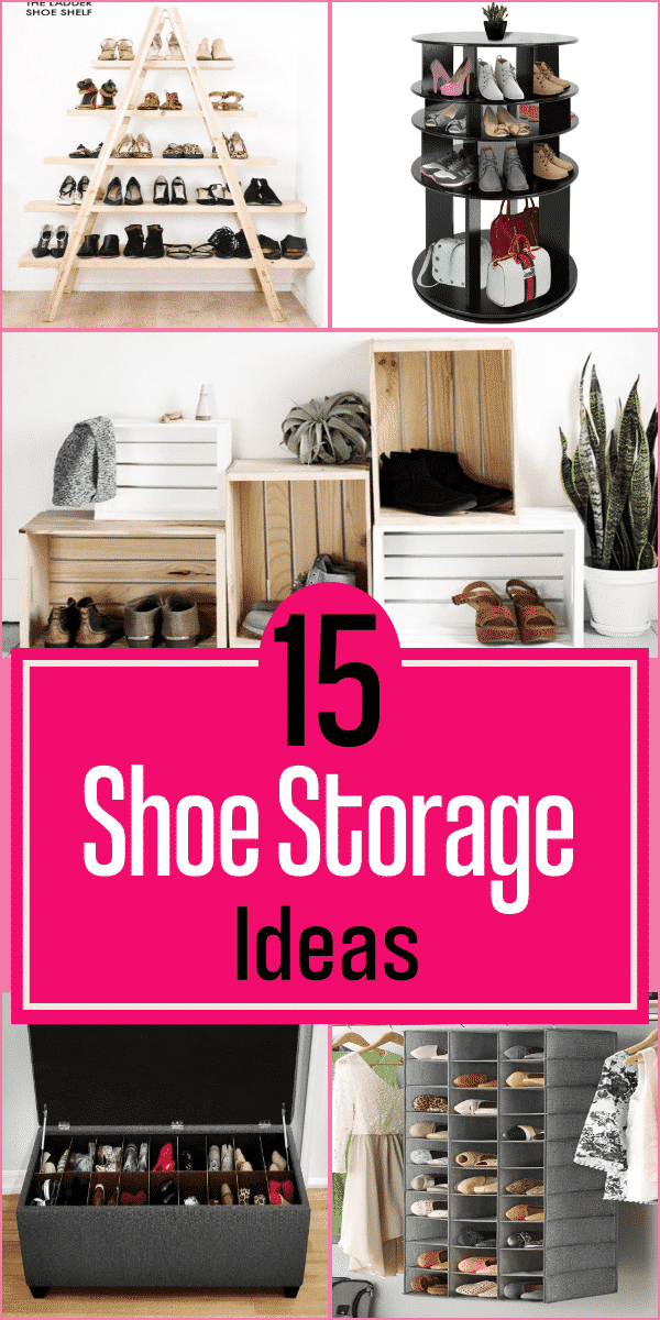 15 Shoe Storage ideas
