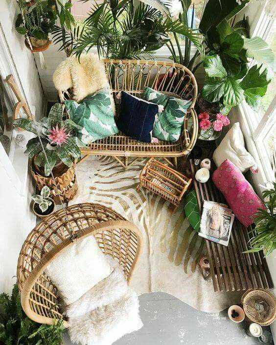 Hanging Chair small balcony ideas