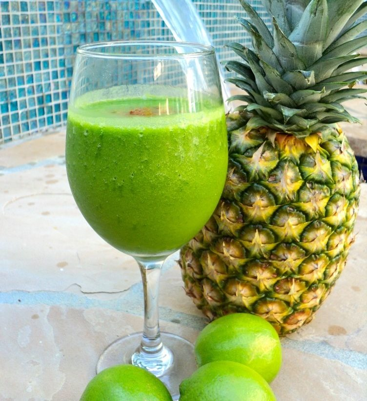 Spicy Tropical Greens Delight
